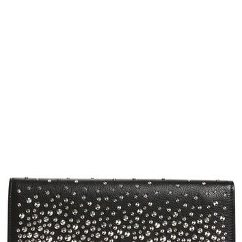 Alexander McQueen Studded Leather Travel Wallet | Nordstrom