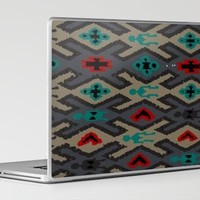 Native Rug No.5 Laptop & iPad Skin by Romi Vega | Society6