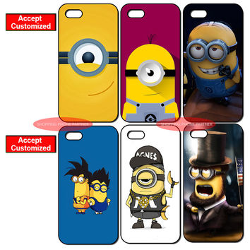 Despicable Me Minion Pattern Phone Cases for Samsung Galaxy S-Series, S-Mini Series, & Note-Series SmartPhones
