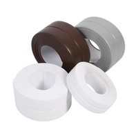 1Pcs 3.2M Length Self Adhesive Bath And Wall Sealing Strip Sink Basin Edge Trim Kitchen New 3 Colors Optional