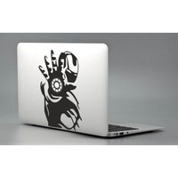 Iron Man Tony Stark - Apple Macbook Laptop Decal Sticker Avengers Vinyl Love Mac Pro Air Retina Skin Cover
