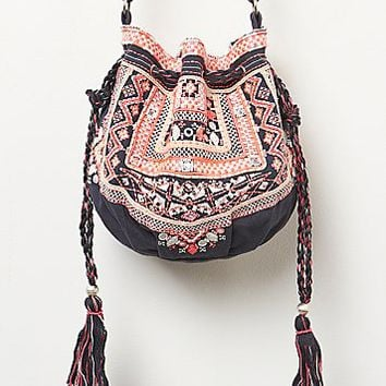 Star Mela Womens Myla Embroidered Crossbody -