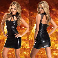 On Sale Hot Deal Cute Hollow Out Sexy Skirt Club Exotic Lingerie [6595695683]