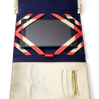 Navy Trunk Show iPad Case - Lilly Pulitzer