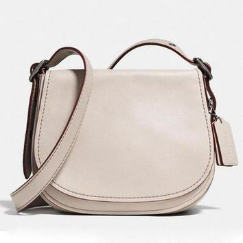 DCCKJ3V COACH Women Shopping Leather Crossbody Satchel Shoulder Bag-1