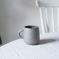 cup with handle | grey