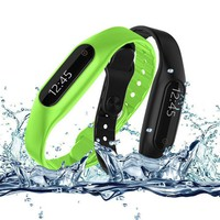 Waterproof Bluetooth Smart Bracelet E06 Wristband Health Fitness Tracker Sport Smart belt Watch For iPhone IOS Android phone