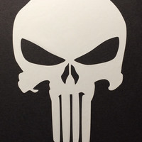 Punisher Skul Decal