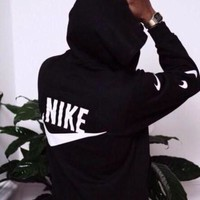 DCCKFC8 Nike' Women Men Fashion Top Sweater Pullover Sweatshirt Hoodie