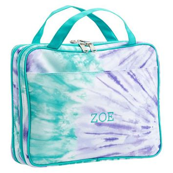 Jet-Set Cool Tie-Dye Makeup Travel Case
