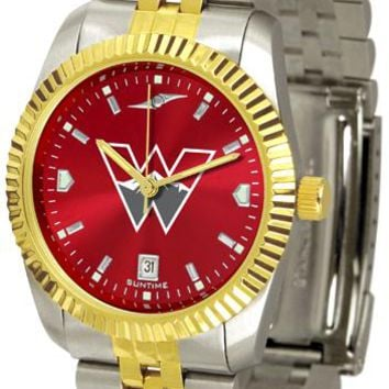 Western State Colorado University Mountaineers Men's Executive AnoChrome Watch
