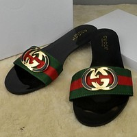 Trendsetter GUCCI Women Casual Fashion Sandal Slipper Shoes