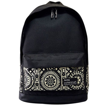 4 Styles Hot Sale Womens Men Casual Girl School  Backpack Fashion Canvas Double Shoulder Bag Rucksack Outdoor Travel Bags