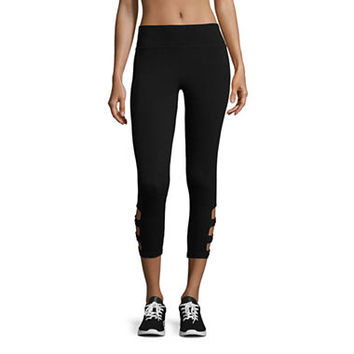 Flirtitude Capri Leggings-Juniors - JCPenney