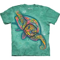 DEAN RUSSO SEA TURTLE T-Shirt by The Mountain Ocean Animal Art Tee S-3XL NEW