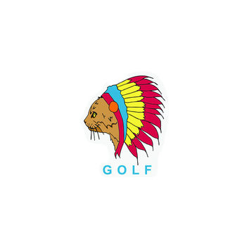 "NATIVE CAT STICKER 4"" – Odd Future"