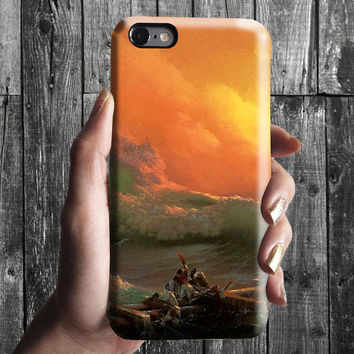 The Ninth Wave - Ivan Aivazovsky iPhone Case 6, 6S, 6 Plus, 4S, 5S. Mobile Phone Cell. Art Painting. Gift Idea. Anniversary Gift for him/her