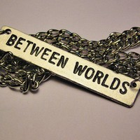 Between Worlds Necklace by CorsoStudio on Etsy