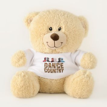 TOP Country Line Dance Teddy Bear