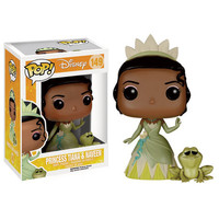 Disneys Princess and the Frog Pop! Vinyl Figure - Princess Tiana : Forbidden Planet