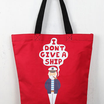 Carefree Captain Tote Bag