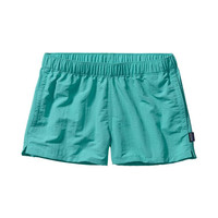 "Patagonia Women's Barely Baggies 2.5"" Shorts- Howling Turquoise"