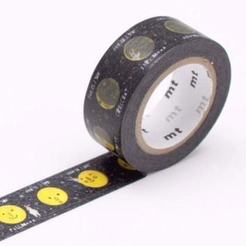mt Kids Washi Tape Single Moon - Omoi Zakka Shop
