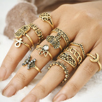 Totem Diamonds Ring Set [11485881231]