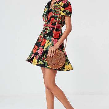 UO Cali Button-Down Mini Dress | Urban Outfitters