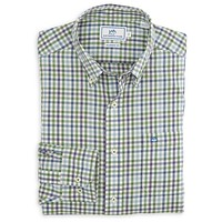 Paris Mountain Plaid Sport Shirt in Willow Green by Southern Tide - FINAL SALE