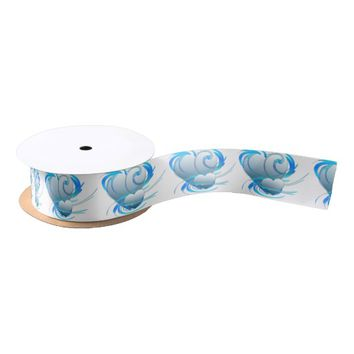 Swirl Hearts Satin Ribbon