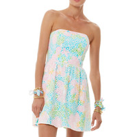 Lottie Strapless Lace Dress - Lilly Pulitzer