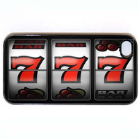 iPhone 4 Case Lucky 7's Casino Hard iPhone Case by KustomCases