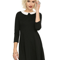 Black & White Collar Dress