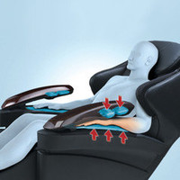 The Heated Full Body Massage Chair - Hammacher Schlemmer