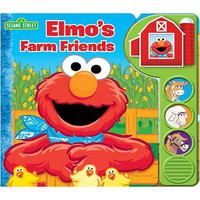 Custom Frame Sound Book - Elmo's Farm Friends