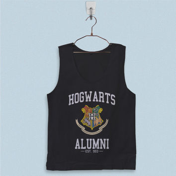 Men's Basic Tank Top - Hogwarts Alumni