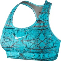 Nike Women's Pro Hypercool Compression Printed Sports Bra