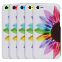 Fosmon MATT Series Rubberized Design Case for Apple iPhone 5C (Fancy Owls)