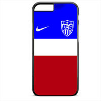 Usa Soccer Jersey Phonecase For Iphone 4/4S Iphone 5/5S Iphone 5C Iphone 6 Iphone 6S Iphone 6 Plus Iphone 6S Plus