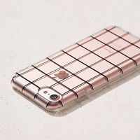 Grid on You iPhone 7 Case | Urban Outfitters