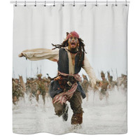Pirates Of The Caribbean Shower Curtain