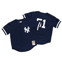 Mitchell & Ness Williams 1998 Authentic Mesh Bp Jersey New York Yankees Size Medium
