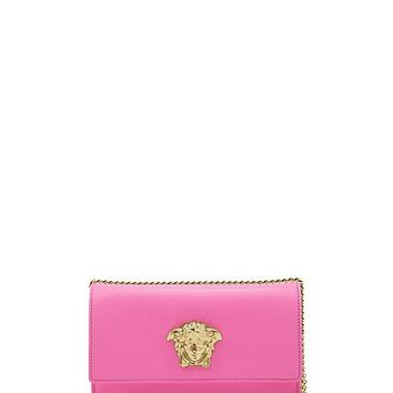 Versace - Vitello Palazzo Pouch with Chain