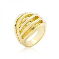 Golden Illusion Fashion Ring-CasaMom's Everything