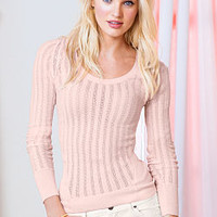 Scoopneck Sweater - Feather Sweaters - Victoria's Secret