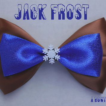 jack frost hair bow