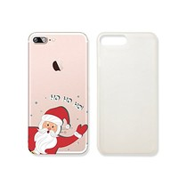 Cute Santa Claus Ho Ho Ho Merry Christmas Slim Transparentt Iphone 7 Case, Clear Iphone Hard Cover Case For Apple Iphone 7 Emerishop (iphone 7)