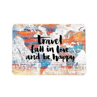Love Travel Passport Holder - Customized Passport Covers - Passport Wallet_Emerishop