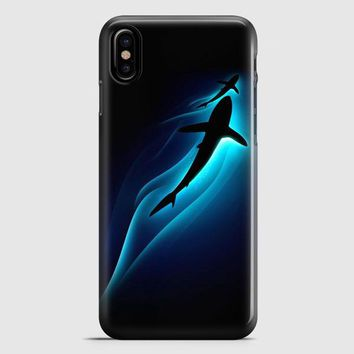 Abstract Shark iPhone X Case